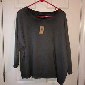 American Eagle Crop Sweatshirt